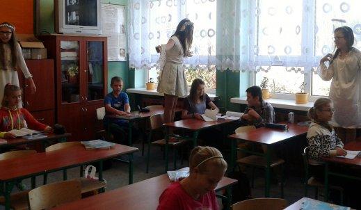 Anioły nawiedziły naszą szkołę…
